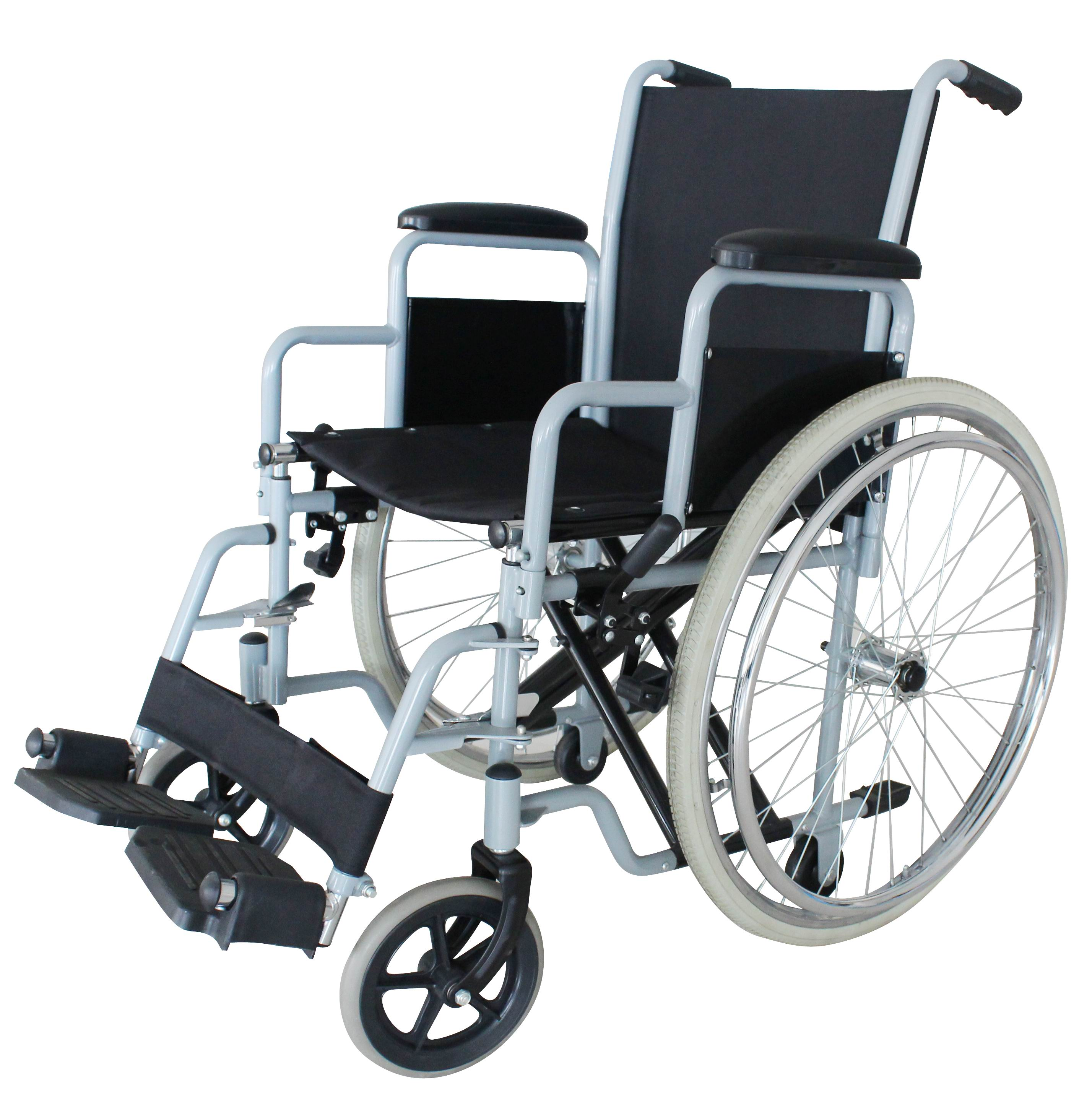 Steel Self-Propelling Wheelchair