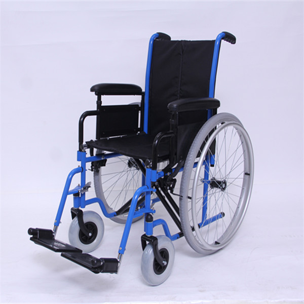 Self-Propelled Wheelchair with Flip back Arms