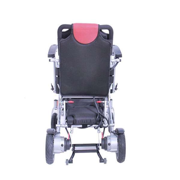 Lightweight and Quick folded power wheelchair